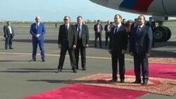 Ռուսաստանի վարչապետ Դմիտրի Մեդվեդևը ժամանեց Երևան