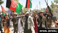 Like Afghans across the country, residents of Ghor Province are taking up arms against the Taliban.
