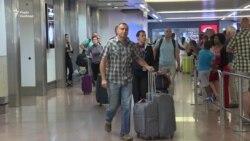Аеропорт Брюсселя: українці прилетіли без віз (відео)