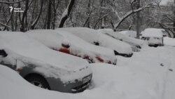 Снегопад в Москве. Изучение последствий