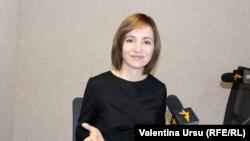 Мая Санду во время интервью Радіо Свобода, 2 декабря 2020 года