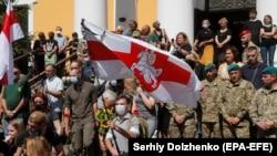 Ukraynanın şərqində öldürülmüş Mykola Ilin-in dəfn mərasimi, 22 iyul, 2020-ci il