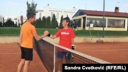 Kosovë: tenisti Filip Paviq dhe shoku i tij Dasar Ymeri