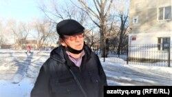 Активист Серик Каяпкалиев.