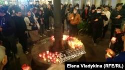 Акция памяти в Санкт-Петербурге