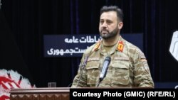 اجمل عمر شینواری سخنگوی مشترک نیروهای امنیتی و دفاعی افغانستان