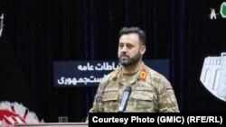 د افغانستان امنیتي او دفاعي ځواکونو ویاند اجمل عمر شینواری