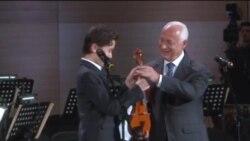 Уфада скрипкачыларның халыкара бәйгесе җиңүчеләре бүләкләнде