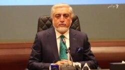 نشست خبری عبدالله عبدالله رئیس شورای عالی مصالحه ملی