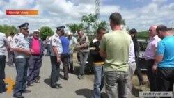 Շիրակի մարզի երեք համայնքների բնակիչներն այսօր փակել էին Գյումրի տանող ճանապարհը