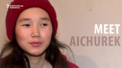This 13-Year-Old Kyrgyz Girl Supports Her Whole Family