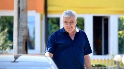 Milomir Savčić, optužen za genocid u Srebrenici, ispred Suda BiH, 9. august, 2021.