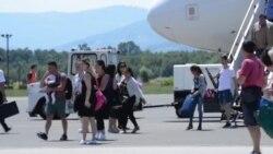 Milionita putnica na tuzlanskom aerodromu
