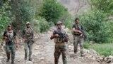 افغان امنيتي ځواکونه په ننګرهار کې د ګزمې پر مهال