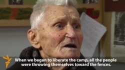 Ukrainian Veteran Recalls Liberation Of Auschwitz