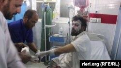 زخمی انفجار بالون گاز در کنر