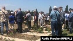Похороны Мамихана Умарова в Вене, 21 июля 2020 года