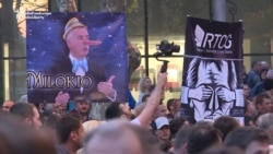 Montenegrin Antigovernment Protests Enter Eighth Week