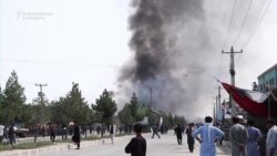 Taliban Bombing Hits Kabul, As Peace Deal Reached 'In Principle'