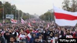 Акція протесту в Мінську 27 вересня 2020