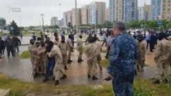 Сайлау нәтижесіне қарсылық білдіргендерді полиция ұстады