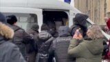 Navalny's Wife Detained In Moscow GRAB 2