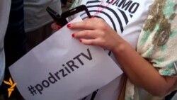 Protest u Novom Sadu: Ne damo RTV