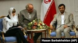 دیدار وزیر خارجه سوئیس با محمود احمدینژاد در سال ۸۷