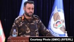 اجمل عمر شینواری سخنگوی نیروهای امنیتی افغانستان