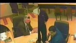 """Elshad Abdullayevin gizli videosu-3 (Sahib """"Qorbaçov""""la görüş)"""
