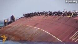 На озере Донузлав проводят работы по разблокировке выхода в открытое море.