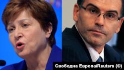 Кристалина Георгиева и Симеон Дянков