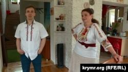 Вікторія та Олександр Гуляєві, власники друкарні