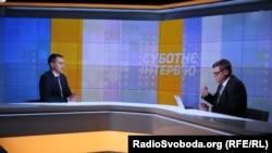 Віктор Ляшко у студії Радіо Свобода