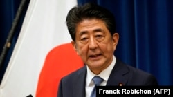 Јапонскиот премиер Шинзо Абе