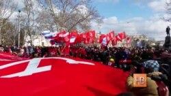 """""""Мать не бросит крымчан"""""""