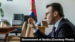 Директорот на српската Канцеларија за Косово, Петар Петковиќ
