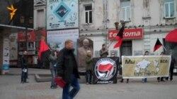 Митинг антифашистов в Иркутске