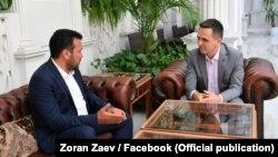 Зоран Заев и Биљал Касами