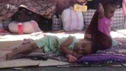 Застрявшие в Казахстане таджикские мигранты: «Мирзияев, пропусти»