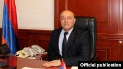 Armenia - Syunik Governor Melikset Poghosian.