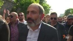 Никол Пашинян ягона номзад ба курсии сарвазири Арманистон аст