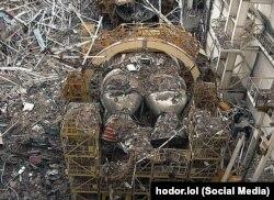 Последствия пожара на космодроме Байконур и обвала потолка на «Буран»