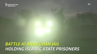 Battle At An Afghan Jail Holding Islamic State Prisoners