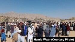 Waziristanlylar protest bildirýär. Arhiw suraty