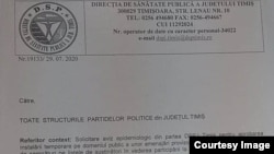 DSP Timiș's answer