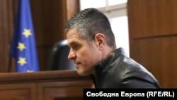 Евелин Банев-Брендо по време на едно от заседанията на Софийския градски съд по делото му