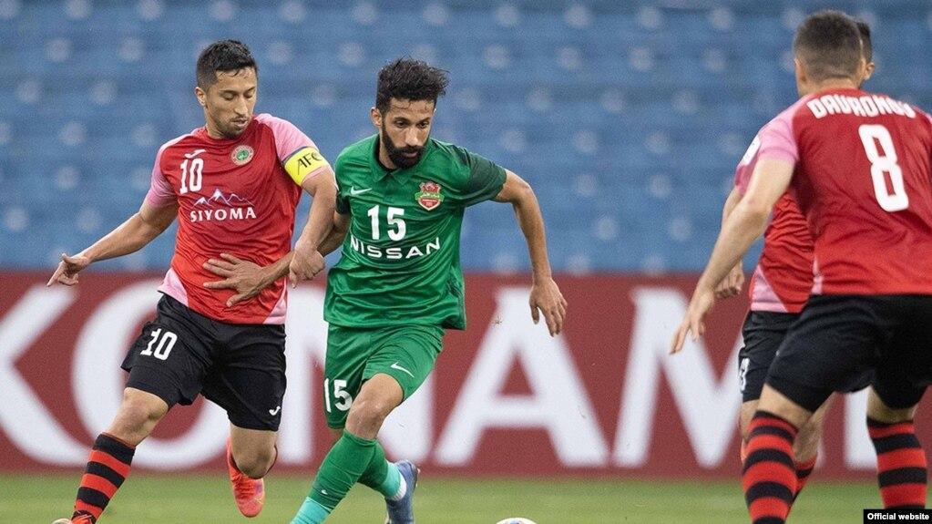 «Истиклол» сыграл вничью с командой из Дубая в первом матче Лиги чемпионов АФК-2021