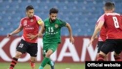 "Матч ""Истиклол"" - ""Шабаб Аль-Ахли Дубай"". Фото с сайта Федерации футбола Таджикистана"