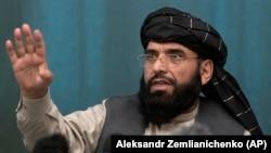 د افغان طالبانو د مرکچي پلاوي یو غړی سهیل شاهین